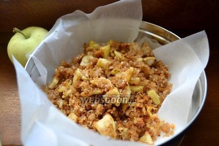Фото рецепта Яблочная гранола