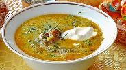 Фото рецепта Щи из свежей капусты с плавленым сыром