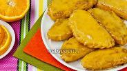 Фото рецепта Самоса с творогом и апельсином