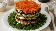 Фото рецепта Салат «Обжорка»