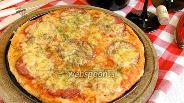 Фото рецепта Пицца с сервелатом и томатами