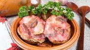 Фото рецепта Фаршированный запечённый картофель с беконом