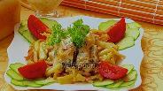 Фото рецепта Щука тушёная под соусом