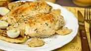Фото рецепта Куриная грудка в яблочно-сливочном соусе