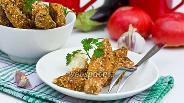 Фото рецепта Хрустящие «палочки» из баклажан