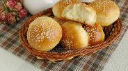 Фото рецепта Булочки с кунжутом