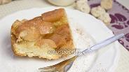 Фото рецепта Постный яблочный пирог