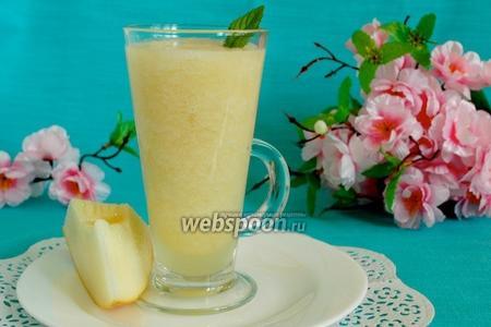 Лимонно-дынный смузи