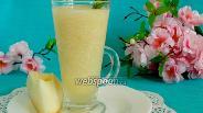 Фото рецепта Лимонно-дынный смузи