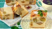 Фото рецепта «Накрахмаленный» яблочно-виноградный пирог