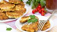 Фото рецепта Оладьи из цветной капусты