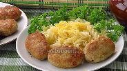 Фото рецепта Котлеты из свинины с тмином и сливочным маслом