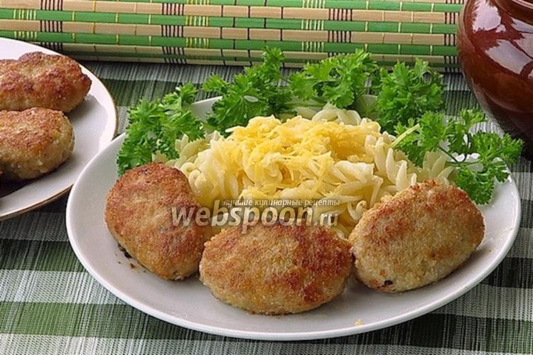 Фото Котлеты из свинины с тмином и сливочным маслом