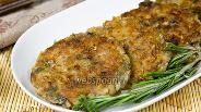 Фото рецепта Овсяные котлеты с грибами