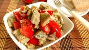 Фото рецепта Салат из баклажан и яиц