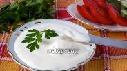 Фото рецепта Майонез на молоке без яиц