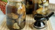 Фото рецепта Баклажаны маринованные на зиму