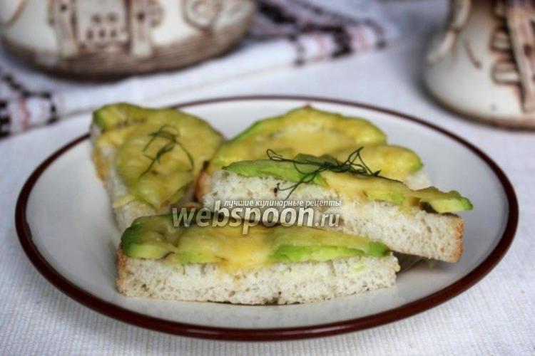 Фото Бутерброды с авокадо
