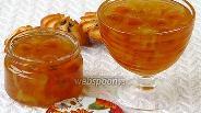 Фото рецепта Варенье из жёлтой алычи с кабачками в ананасовом соке