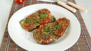 Фото рецепта Баклажаны запечённые с помидорами и сыром