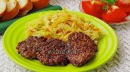 Фото рецепта Печёночные оладьи с рисом