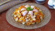 Фото рецепта Закуска с солёной сельдью «Праздничная»