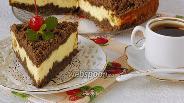 Фото рецепта Творожный торфяной торт