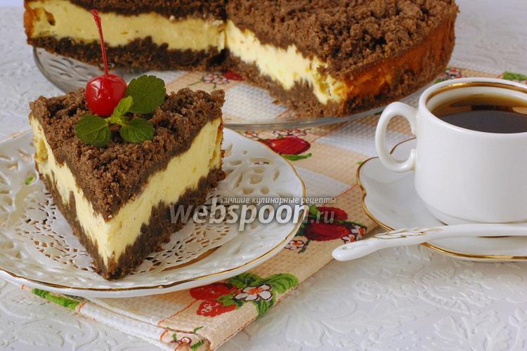 Творожный торфяной торт