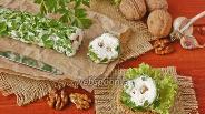 Фото рецепта Пикантная закуска из брынзы и орехов
