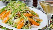 Фото рецепта Салат «Сборный» с горчичной заправкой