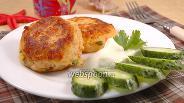 Фото рецепта Картофельные биточки с сёмгой