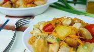 Фото рецепта Курица с ананасом