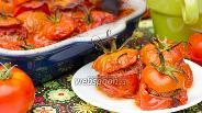 Фото рецепта Запечённые помидоры с начинкой из мяса и сладкого перца