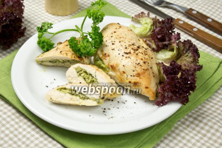 Фото Фаршированные куриные грудки по-итальянски