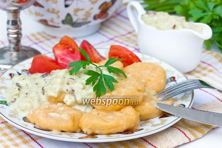 Картофельные ньоккетти с паприкой и мускатным орехом