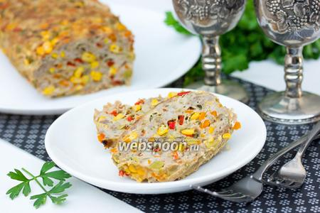 «Разноцветный» мясной хлебец