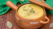 Фото рецепта Суп с белыми грибами и плавленым сырком
