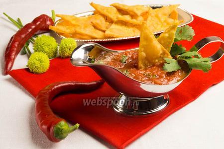 Соус овощная сальса