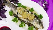 Фото рецепта Рыба запечённая в пергаменте с ароматными свежими травами и лаймом