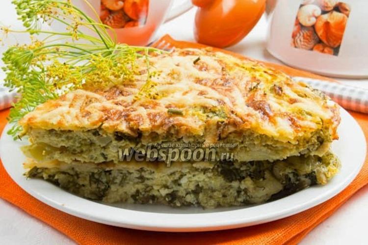 Фото Запеканка из брокколи с сыром