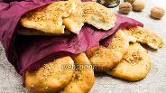 Фото рецепта Индийские лепёшки наан