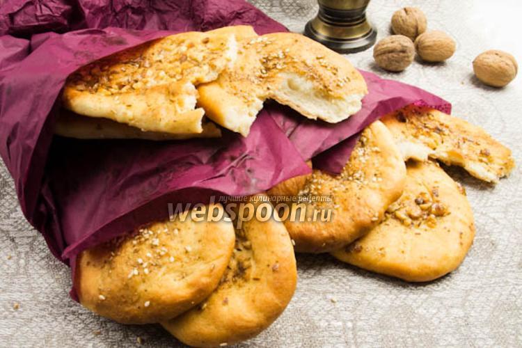 Фото Индийские лепёшки наан