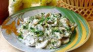 Фото рецепта Закуска из консервированных шампиньонов