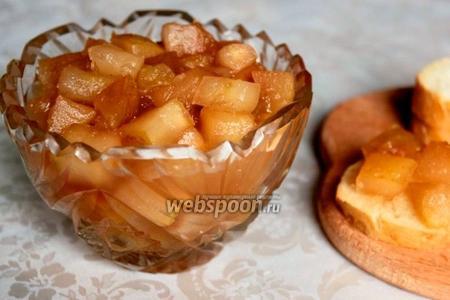 Варенье из яблок с корицей в хлебопечке