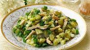 Фото рецепта Салат из кальмаров с овощами