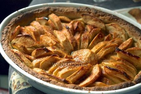Фото рецепта Французский яблочный пирог