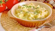 Фото рецепта Картофельное пюре с капустой