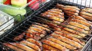 Фото рецепта Шашлык из курицы в соевом соусе