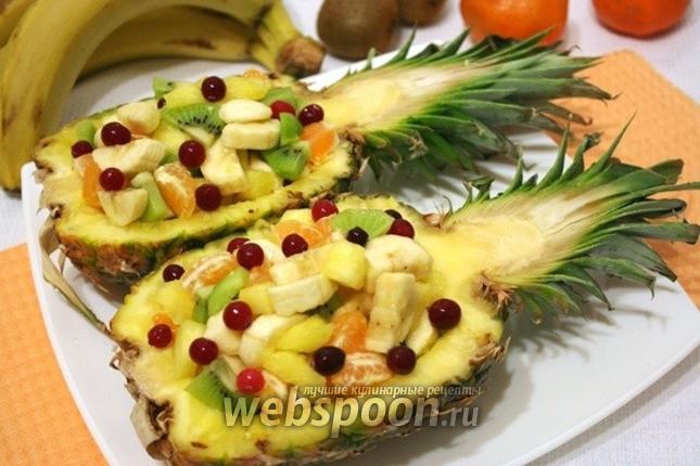 новогодний фруктовый салат рецепты