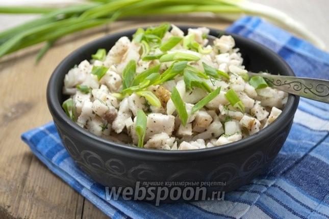 сало соленое рецепты с уксусом